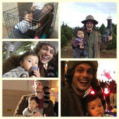 Matthew and his nephew Hunter.