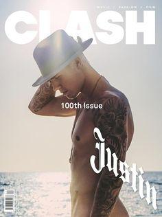 ジャスティン・ビーバーが『Clash』のカバーでフルヌードに!|エル・ガール・オンライン