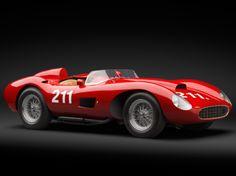 Compre un modelo clasico de Ferrari con las ganancias de la loteria @GrandesLoterias