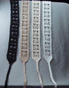 Cotton crocheted headband - would look nice as a bracelet   # Pinterest++ for iPad #
