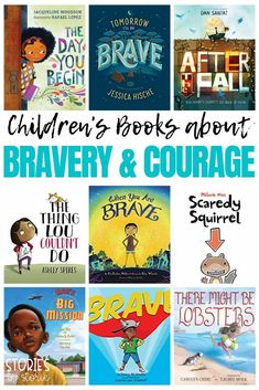 With so much going on in the world, it can be hard to feel brave. I want my kids to know just how strong they are. That despite their size, they can find the courage to face their fears. Sometimes I like to turn to a book when I can't find the words myself. Here are some great books about bravery and courage. Best Books List, Great Books, Scaredy Squirrel, Growth Mindset Book, The Kissing Hand, Monster Under The Bed, Facing Fear, Humpty Dumpty, Library Card