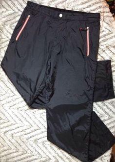 bcc51a7c Ermenegildo Zegna Track Pants Large Mens Sport Track Warm Up Lined Black
