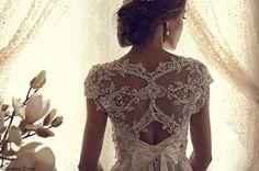 Short Sleeve Beaded Applique Top with Rhinestone Beading Chiffon Flowy Bottom Ivory Unique Sexy Wedding Dress Custom Size on Etsy, $440.00