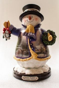 Thomas Kinkade Christmas Welcome Snowman #11 by Thomas Kinkade, http://www.amazon.com/dp/B00A8VIA6M/ref=cm_sw_r_pi_dp_CQ4-qb142PP8Q