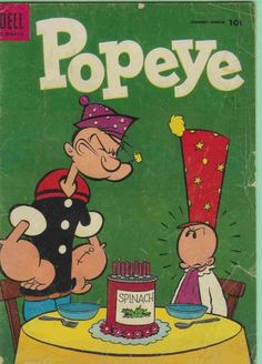 Cover for Popeye (1948 series) #31