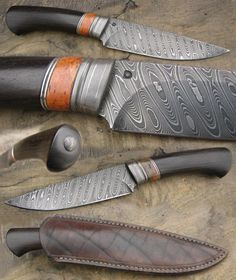 Knife Quotes, Knife Puns and Survival Quotes:Here are some favorite knife quotes, knife puns and survival quotes. Damascus Pocket Knife, Damascus Blade, Forged Knife, Damascus Knife, Damascus Steel, Bushcraft Knives, Tactical Knives, Cool Knives, Knives And Swords