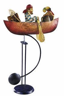 Prinzessin mit Hennin zu Pferde G670: Balancefigur zur Ritterzeit Pendelfigur