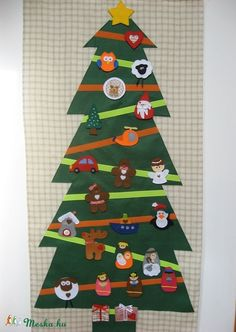 My Works, Advent Calendar, Holiday Decor, Christmas, Home Decor, Yule, Navidad, Decoration Home, Xmas