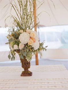 nantucket wedding escort table