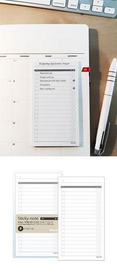 Check this out! It's a simple yet brilliant checklist sticky note for your to dos, goals, or even grocery lists! On the left, there are checkboxes to check when you've finished your tasks, & on the other side, there are 2 columns of circles with a star & diamond. Check the star when a task is related to your dream or goal & check the diamond when a task is meaningful or holds special value for you! This way, each step toward your goals becomes meaningful~
