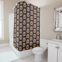 MARITIME XPRESSIONZ SHOWER CURTAIN - retro gifts style cyo diy special idea