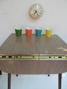 Retro Dining Table Dining Tables And Mini Kitchen On
