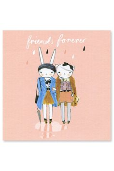 Fifi Friends Card