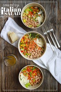 Country italian salad