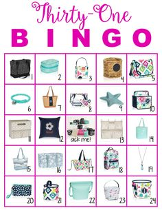 UPDATE!! Spring 2017 board on bottom of post! I was invited to a Facebook party for another Direct Sales Company. The night before the party, the consultant set up a bingo game for us. She posted a…