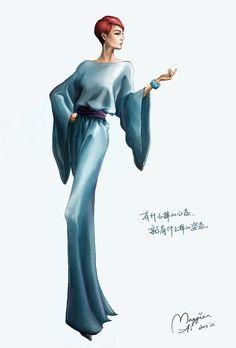 Fashion Illustration '05 by Maggie Ai.