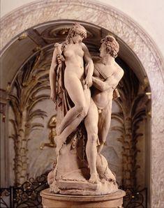 Joseph CHINARD Lyon, 1756 / Lyon, 1813 - Persée délivrant Andromède (1791) - Terre cuite - Don de Mme Jospeh Chinard, 1813 - Musée des Beaux Arts de Lyon