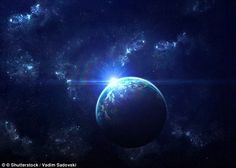 Astronomers are investigating four unknown objects that could be candidates for Planet 9 - a new planet in our Solar System (artist's impression)