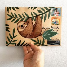 I love writing letters. Writing letters saved my life. I've written a lot of letters in myself, but I've had one main penpal who I have written to for over 40 years and she means everything to me. Envelope Art, Envelope Design, Pen Pal Letters, Letter Art, Letter Writing, Snail Mail Pen Pals, Snail Mail Gifts, Mail Art Envelopes, Paper Art