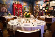 """One of Esquire magazine's """"Best New Restaurants,"""" Proof on Main in downtown Louisville's acclaimed Museum Hotel is a favorite for locals and visitors. Louisville Restaurants, Museum Hotel, Maine, Table Settings, Bourbon, Home, Bourbon Whiskey, Ad Home, Place Settings"""