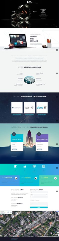 Coworking Ipsach - WordPress Webdesign & E-Commerce Biel Ecommerce, Desktop Screenshot, Wordpress, Web Design, Projects, Design Web, E Commerce, Website Designs, Site Design