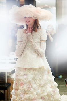 Haute Couture| Chanel Haute Couture Spring 2015 Details | http://www.theglampepper.com/2015/02/12/haute-couture-chanel-haute-couture-spring-2015-details/