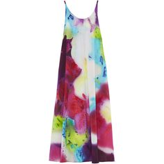Alice + Olivia Kiki Trapeze Hem Tank Dress