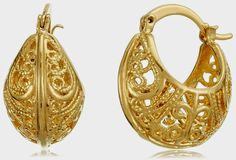 GB Jewellery 18 KT Gold Plated Earring for Women - JE10GFE031