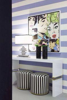 Image print in canvas for Interdesign Interiores