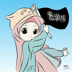 Kalimat Indah Yang Menyatukan Ummat Saya Bangga Menjadi Muslimah Original Picture By Kisr Ilustrasi Karakter Ilustrasi Kartun