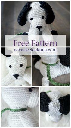 Crochet Puppy By Leelee Knits - Free Crochet Pattern - (leeleeknits)