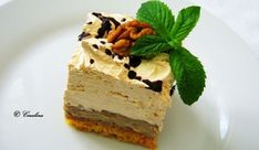 IMG_0785 Romanian Food, Romanian Recipes, Something Sweet, Tiramisu, Caramel, Cheesecake, Ice Cream, Sweets, Cooking