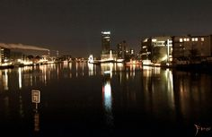Berlin nachts, Effects of light at night Berlin.