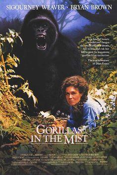 GORILLAS IN THE MIST POSTER (1988)