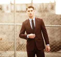 Whether it's a brown suit or just the lighting, it still looks pretty sharp.