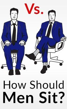 Should Men Sit With Their Knees Open Or Closed?