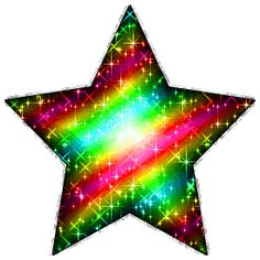 glitter animated star background | Glitter Graphic Comment: Large Candy Colored Glitter Star With Silver ...
