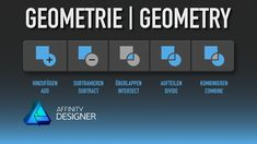 #14 Quicktips – Geometry operations In this quicktip you will learn how to use the Geometry operations in Affinity Designer 1.6.0 #madeinaffinity #madewithaffinity