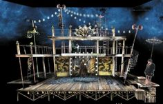 ART's set design (Daniel Conway) of The Tempest, 2014