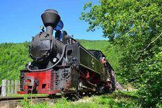 Cea mai veche locomotivă românească în drumul ei zilnic Romania, Mai, Vehicles, Places, Trains, Car, Lugares, Vehicle, Tools