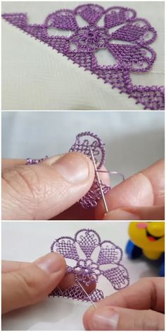 Mor Sevenlere Geniş Yazma Oyası Wide Writing Lace for Purple Lovers You are in the right place about Crochet bebes Here we offer you the. Crochet For Beginners Blanket, Crochet Blanket Patterns, Tatting Patterns, Cross Stitch Patterns, Floral Embroidery, Hand Embroidery, Free Crochet, Crochet Hats, Top Fashion