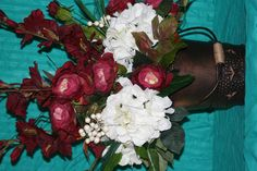 Silk arrangement selling for $70.00