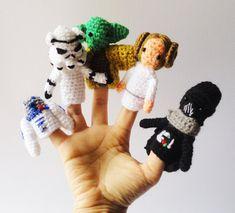 hæklede fingerdukker opskrift