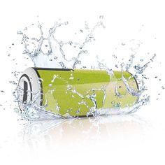 Bluetooth Sport Lautsprecher Wasserdicht Grün.: Amazon.de: Küche & Haushalt