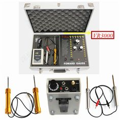 High Deep Earth Underground Mineral Detector VR3000 Best gold metal search machine fast shipping by DHL