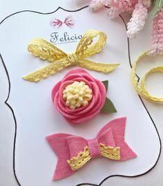 28 отметок «Нравится», 5 комментариев — Felicia Bows & Accessories (@feliciabows) в Instagram: «Солнечного и радостного всем дня ☀️ Наши красотушки - розочка и бантики сделаны для вас, как…»