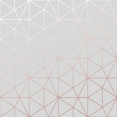 Metro Prism Geometric Triangle Wallpaper - Grey and Rose Gold - bedroom Metro Prism Geometric Triangle Wallpaper - Grey and Rose Gold - Rose Gold And Grey Bedroom, Rose Gold Rooms, Iphone Wallpaper Rose Gold, White Wallpaper, Rose Gold Bedroom Wallpaper, Copper Wallpaper, Rustic Wallpaper, Emoji Wallpaper, Wallpaper Desktop