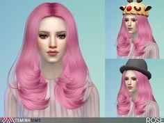TsminhSims' Rose ( Hair 43 )