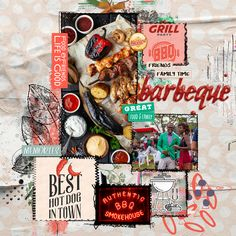 Paper Pocket, Family Memories, Great Recipes, Photo Art, Layouts, Bbq, Party, Food, Design
