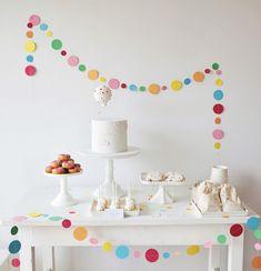 Huge Sprinkle party decor!
